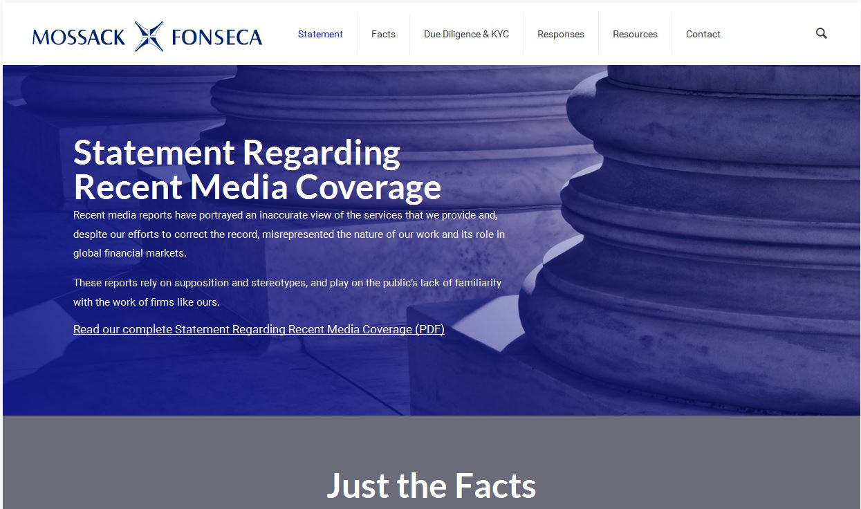 mossack fonseca website